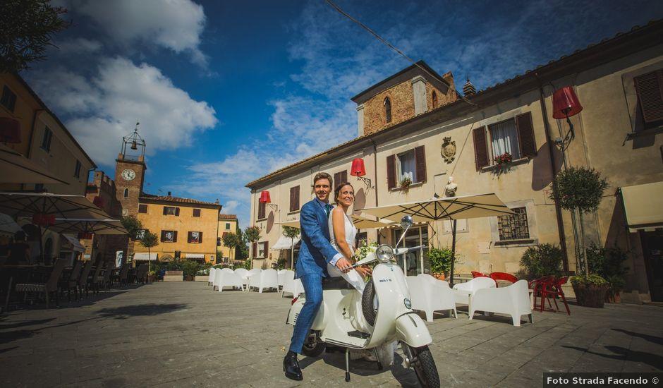 Il matrimonio di Julian e Sabrina a Lajatico, Pisa