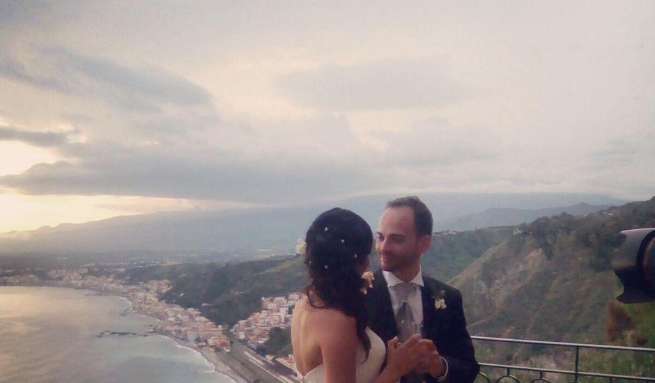 Il matrimonio di Daniele e Angela a Taormina, Messina