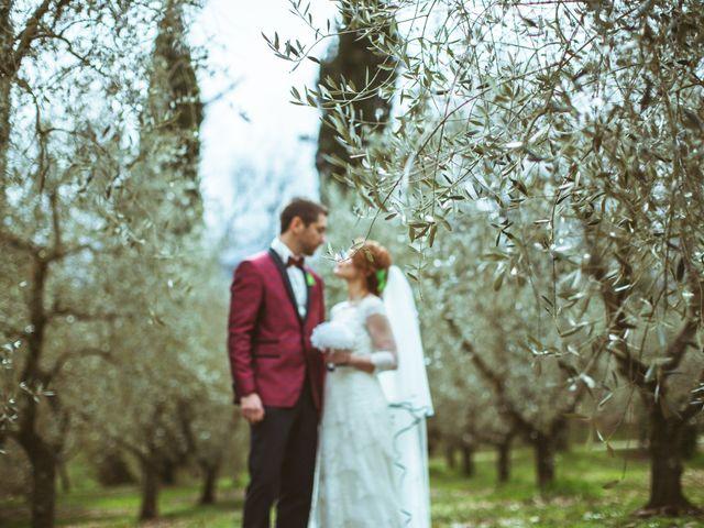 Il matrimonio di Valerio e Aurora a Viterbo, Viterbo 45