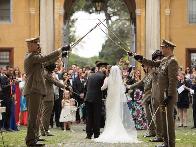 Il matrimonio di Damiano e Francesca a Roma, Roma 71