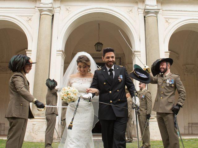 Il matrimonio di Damiano e Francesca a Roma, Roma 101