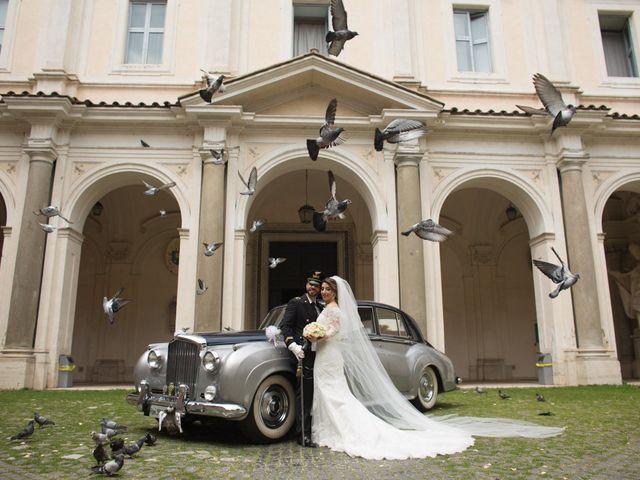 Il matrimonio di Damiano e Francesca a Roma, Roma 107