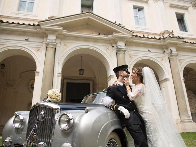 Il matrimonio di Damiano e Francesca a Roma, Roma 109