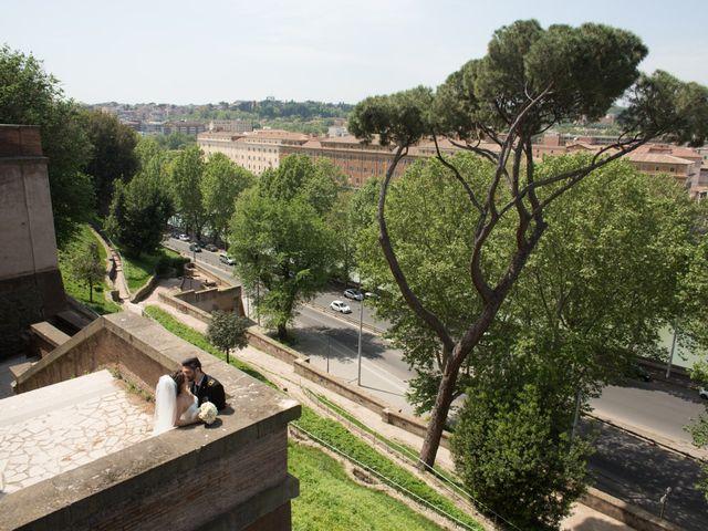 Il matrimonio di Damiano e Francesca a Roma, Roma 124
