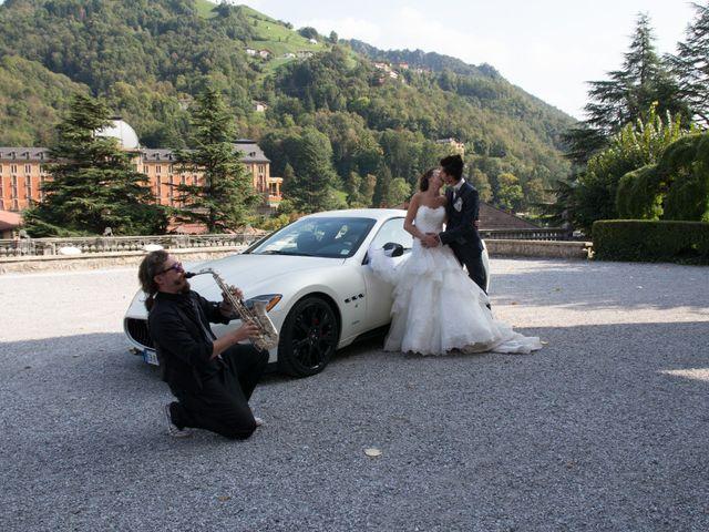 Il matrimonio di Giuliano e Lorena a San Pellegrino Terme, Bergamo 33