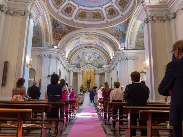 Il matrimonio di Rossella e Orlando a Castel San Giorgio, Salerno 16