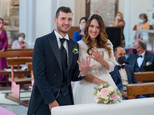 Il matrimonio di Rossella e Orlando a Castel San Giorgio, Salerno 19