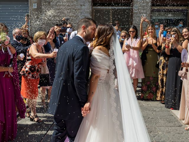 Il matrimonio di Rossella e Orlando a Castel San Giorgio, Salerno 20