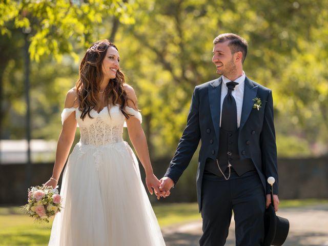 Il matrimonio di Rossella e Orlando a Castel San Giorgio, Salerno 22