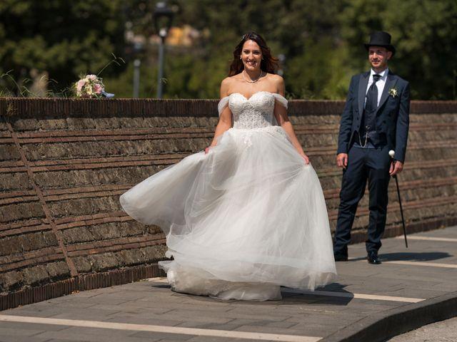 Il matrimonio di Rossella e Orlando a Castel San Giorgio, Salerno 25