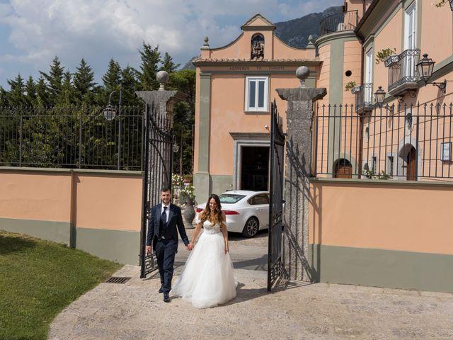Il matrimonio di Rossella e Orlando a Castel San Giorgio, Salerno 27