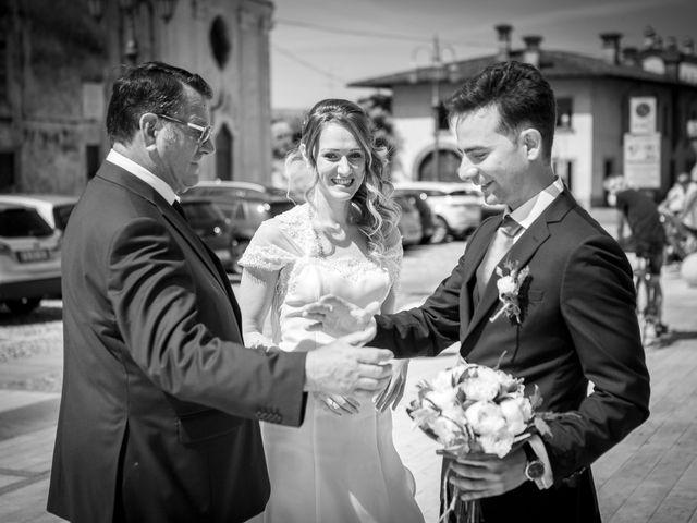 Il matrimonio di Stefano e Silvia a Castrezzato, Brescia 15