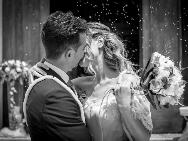 Il matrimonio di Stefano e Silvia a Castrezzato, Brescia 28