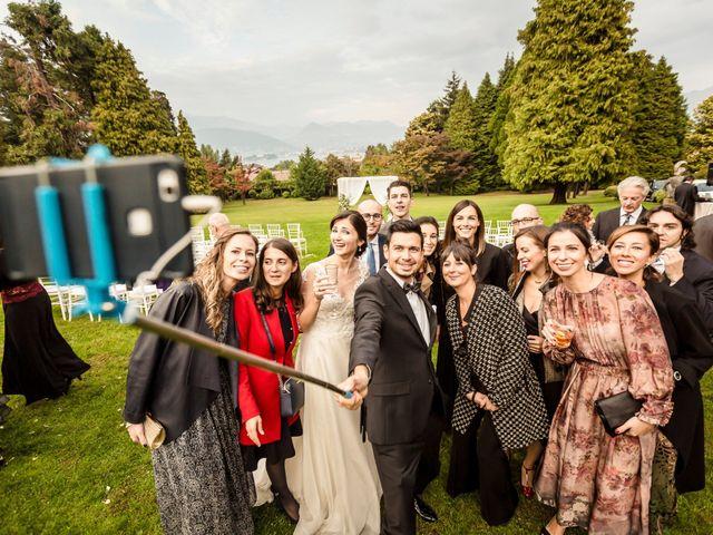 Il matrimonio di Daniele e Elena a Stresa, Verbania 42
