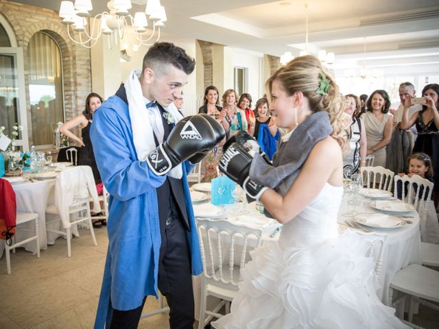 Il matrimonio di Christian e Serena a Morrovalle, Macerata 28