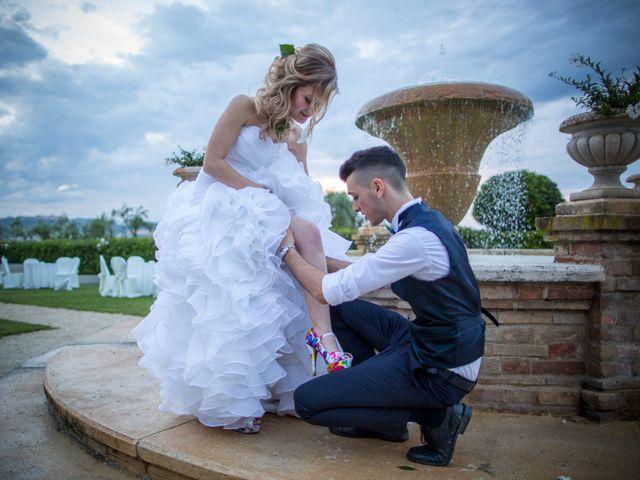 Il matrimonio di Christian e Serena a Morrovalle, Macerata 2