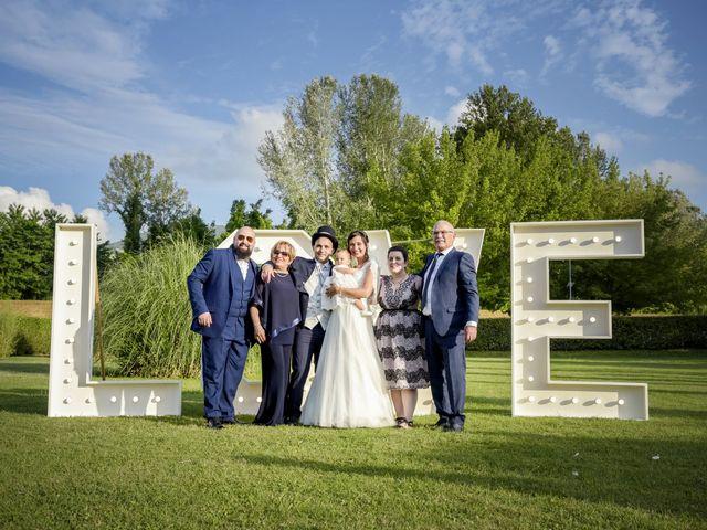 Il matrimonio di Matteo e Nina a Lucca, Lucca 74