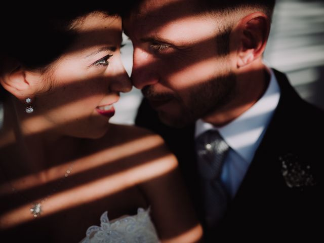 le nozze di Aurora e Beniamino