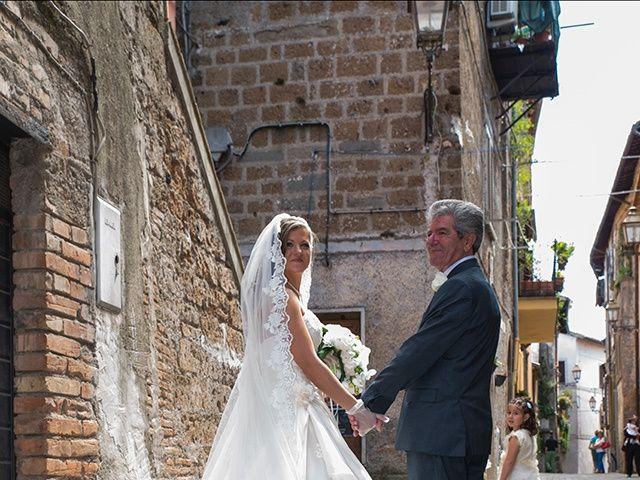 Il matrimonio di Luca e Alessandra a Corchiano, Viterbo 20