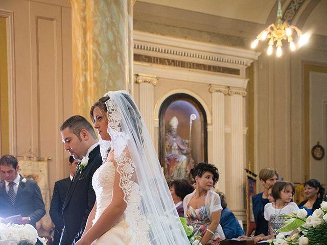 Il matrimonio di Luca e Alessandra a Corchiano, Viterbo 31