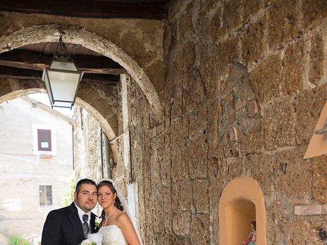 Il matrimonio di Luca e Alessandra a Corchiano, Viterbo 36