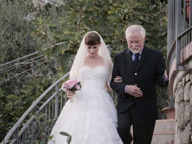 Il matrimonio di Zoe e Francesco a Furore, Salerno 14