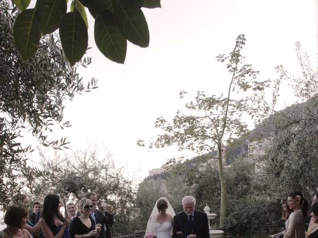 Il matrimonio di Zoe e Francesco a Furore, Salerno 16