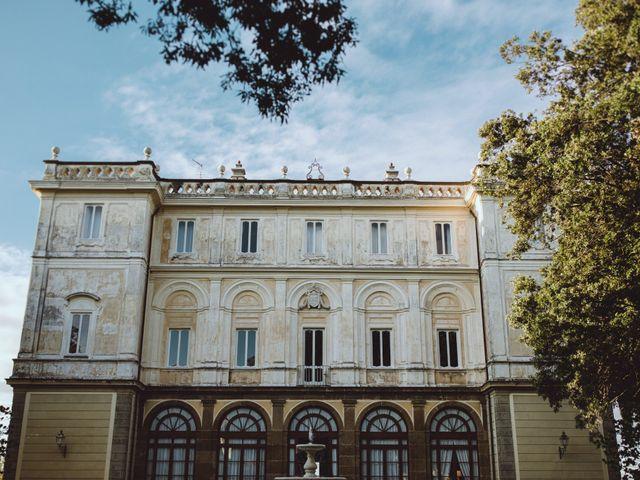 Il matrimonio di Stefano e Alessandra a Grottaferrata, Roma 1