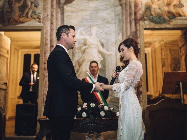 Il matrimonio di Stefano e Alessandra a Grottaferrata, Roma 18
