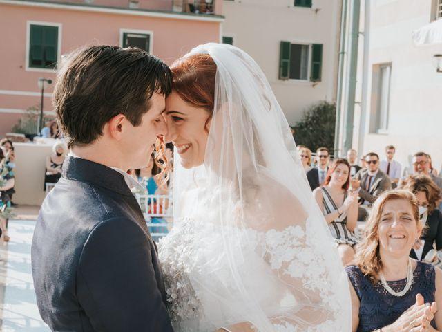 Il matrimonio di Gianmarco e Gea a Sestri Levante, Genova 27
