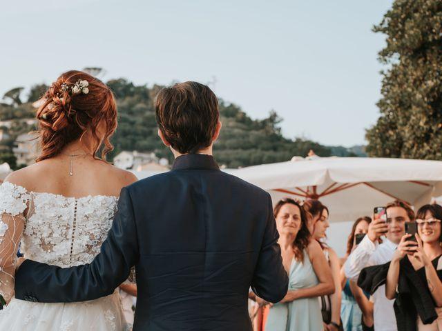 Il matrimonio di Gianmarco e Gea a Sestri Levante, Genova 33