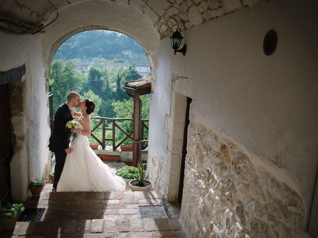 Il matrimonio di Simone e Marika a Rapino, Chieti 12