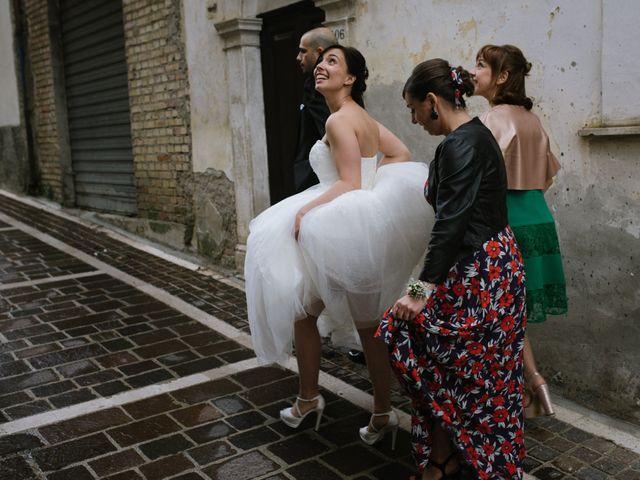 Il matrimonio di Simone e Marika a Rapino, Chieti 1