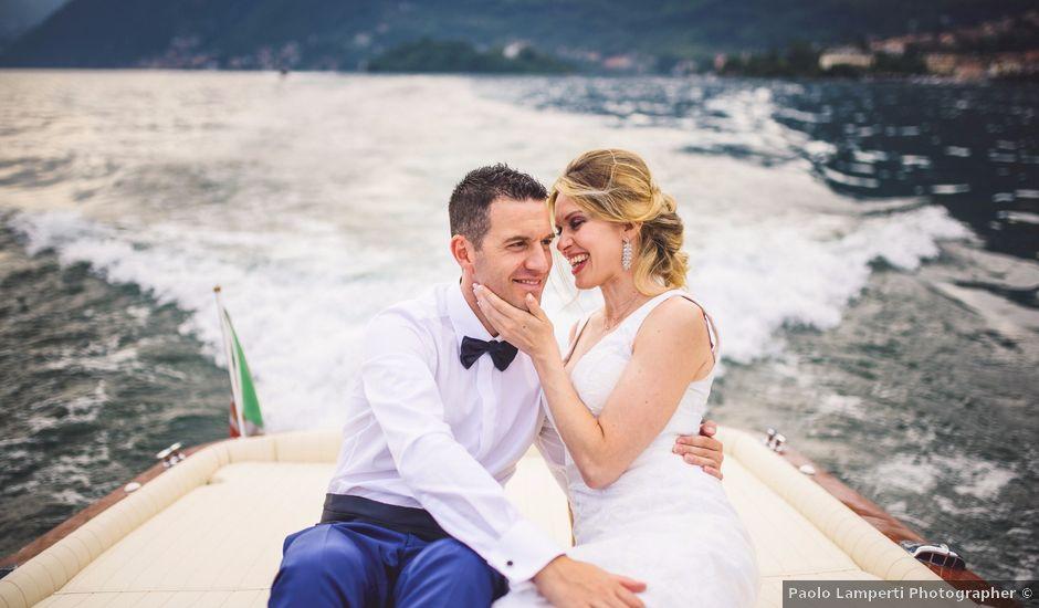 Il matrimonio di Giacomo e Raffaella a Lenno, Como