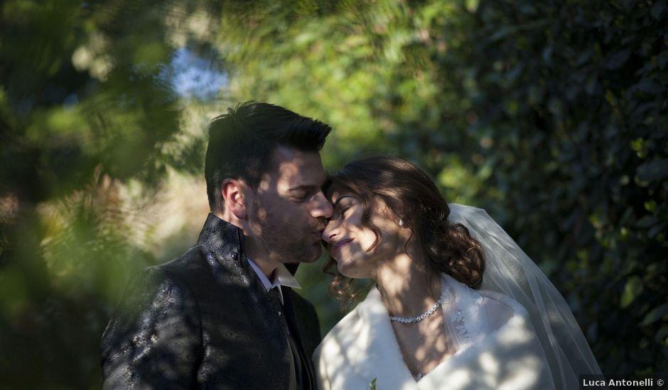 Il matrimonio di Luca e Camelia a Corridonia, Macerata