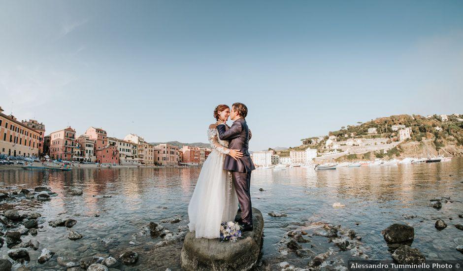 Il matrimonio di Gianmarco e Gea a Sestri Levante, Genova