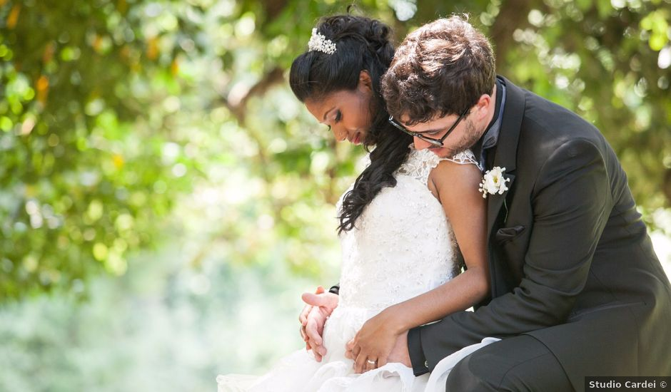 Il matrimonio di Silvia e Andrea a Vejano, Viterbo
