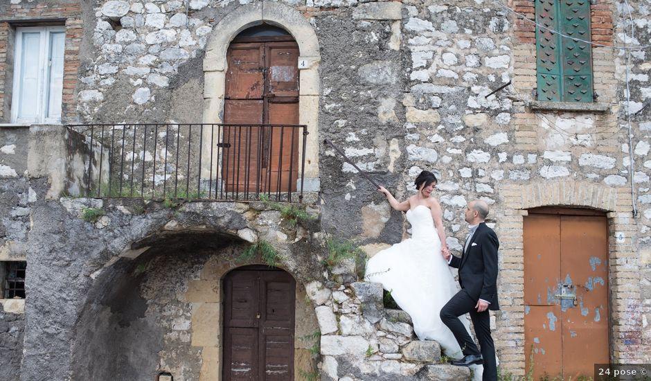 Il matrimonio di Simone e Marika a Rapino, Chieti
