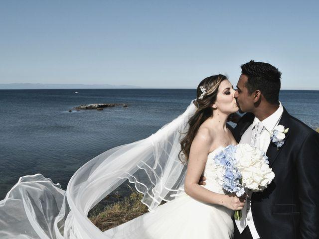 Il matrimonio di Subash e Ambra a Cagliari, Cagliari 62