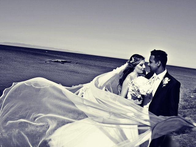 Il matrimonio di Subash e Ambra a Cagliari, Cagliari 63