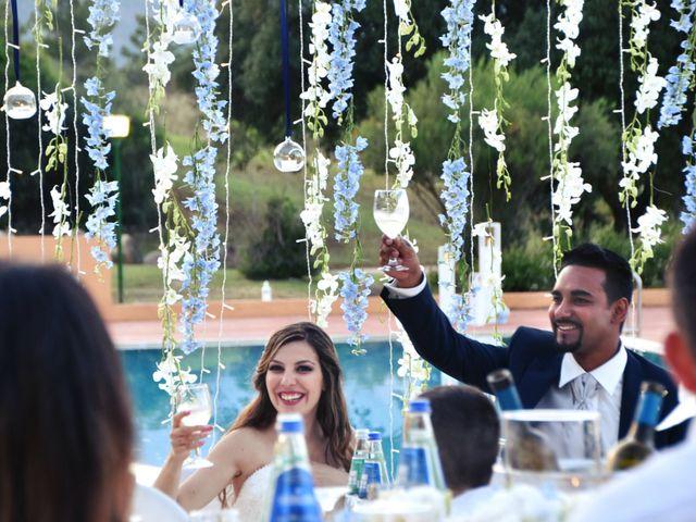 Il matrimonio di Subash e Ambra a Cagliari, Cagliari 79