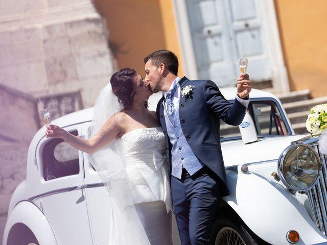 Il matrimonio di Claudio e Simona a Roma, Roma 19