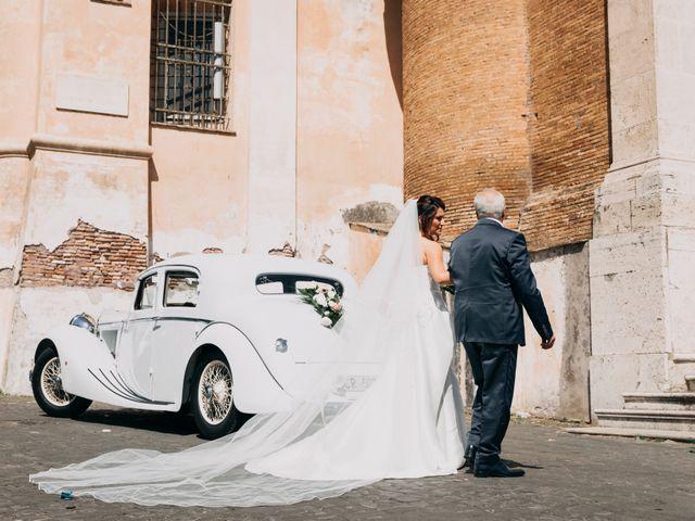 Il matrimonio di Claudio e Simona a Roma, Roma 40