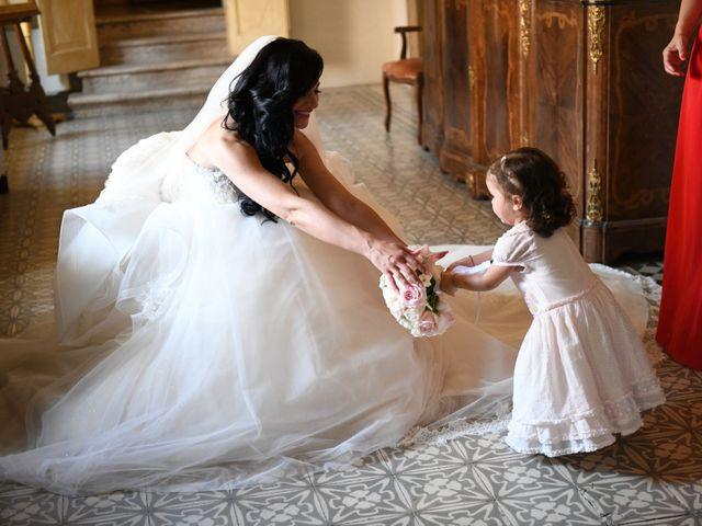 Il matrimonio di Nicola e Maria Grazia a Bevilacqua, Verona 11