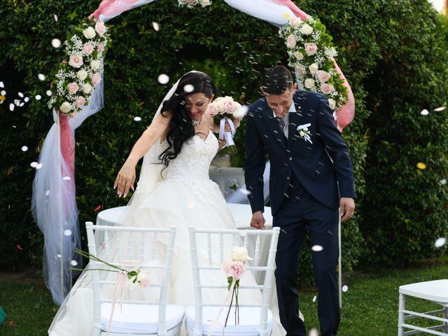 Il matrimonio di Nicola e Maria Grazia a Bevilacqua, Verona 26