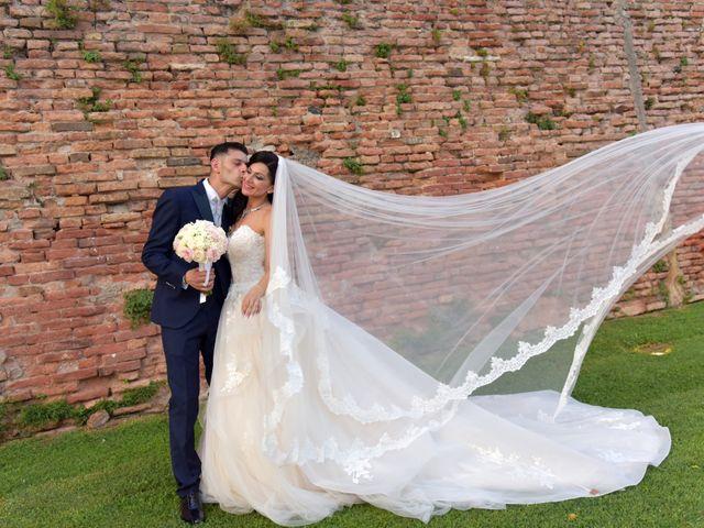 Il matrimonio di Nicola e Maria Grazia a Bevilacqua, Verona 35