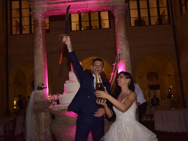 Il matrimonio di Nicola e Maria Grazia a Bevilacqua, Verona 50