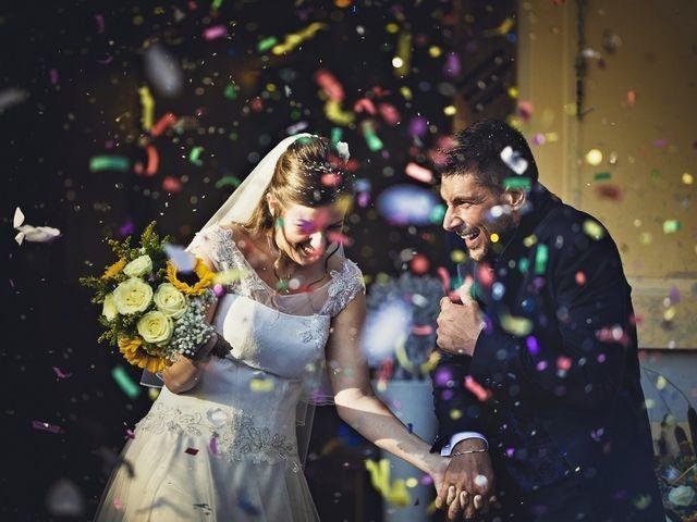 Il matrimonio di Andrea  e Deborah a Saltara, Pesaro - Urbino 1