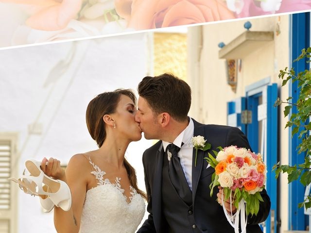 Il matrimonio di Nicola e Agnese a Castro, Lecce 25