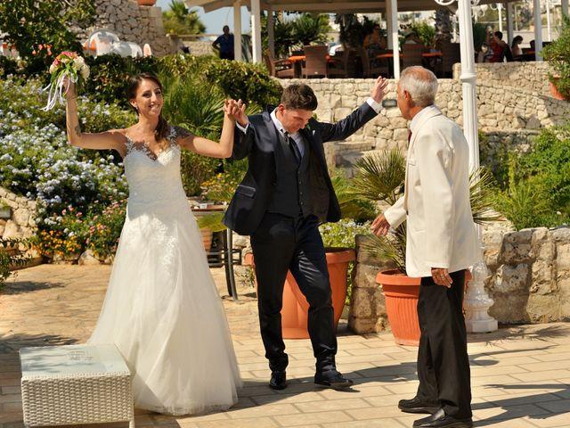 Il matrimonio di Nicola e Agnese a Castro, Lecce 28